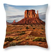 Monumental Butte Throw Pillow