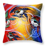 Moon Dance 4 Throw Pillow
