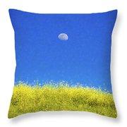 Moonfield Throw Pillow