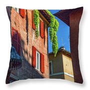 More Corners Throw Pillow