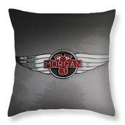 Morgan 3 Hood Ornament Throw Pillow