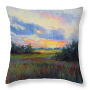 Morning Blessings Throw Pillow