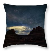 Morning In Page Throw Pillow