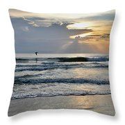 Morning Light Shine Bright Throw Pillow
