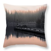 Morning March Throw Pillow