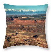 Morning Over Canyonlands Throw Pillow