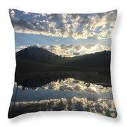 Morning Refection Throw Pillow