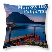 Morrow Bay California Throw Pillow