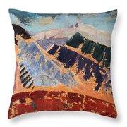 Mosaic Canigou Throw Pillow