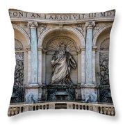 Moses Fountain Throw Pillow