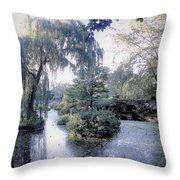 Mossy Lake Throw Pillow
