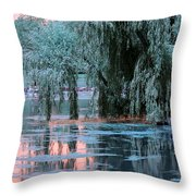 Mother Willow Infrared Throw Pillow