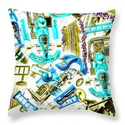 Motorised Bedlam Throw Pillow