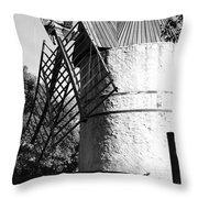 Moulin De Paillas Throw Pillow