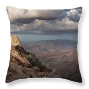 Mount Laguna At Dusk Throw Pillow