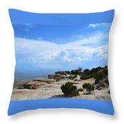 Mount Lemmon Throw Pillow