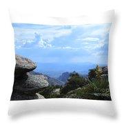 Mount Lemmon View Throw Pillow