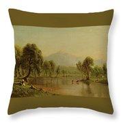 Mount Washington Throw Pillow