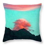 Mountain Daybreak Throw Pillow