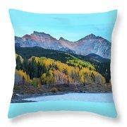 Mountain Trout Lake Wonder Throw Pillow
