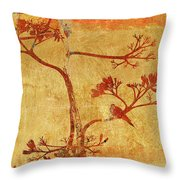 Mourning Dove In The Morning Throw Pillow