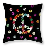Movement Of Unity Throw Pillow