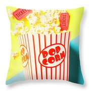 Movie Motion Picture  Throw Pillow