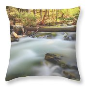 Moving Past It Throw Pillow