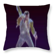 Mr. Fahrenheit Throw Pillow by Kenneth Armand Johnson
