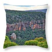 Mt Piddington - Nsw - Australia Throw Pillow