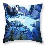 Mt. Shuksan, North Cascades National Park, Whatcom County, Wa Throw Pillow
