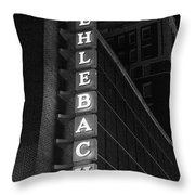 Muehlebach Hotel Kansas City Throw Pillow