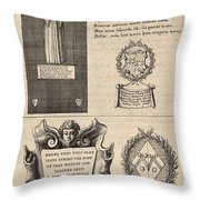 Mullins And Baskerville  Monument   State    Throw Pillow
