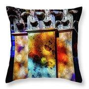 Multi-glass Throw Pillow