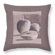My Apples Throw Pillow