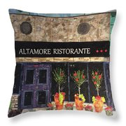 My Favorite Restaurant Throw Pillow