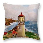 My Lighthouse Throw Pillow