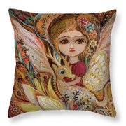 My Little Fairy Selma Throw Pillow