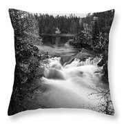 Myllykoski Bw Panorama Throw Pillow