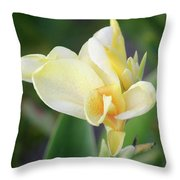 Mystery Muse Throw Pillow