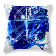 Mystery Of Faith Throw Pillow