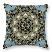 Mystic Mandala Throw Pillow