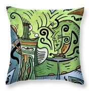 Mystical Powers Throw Pillow