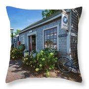 Nantucket Dock Throw Pillow