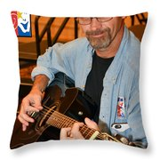 National Veterans Creative Arts 2016 Throw Pillow