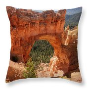 Natural Bridge - Bryce Canyon - Utah Throw Pillow
