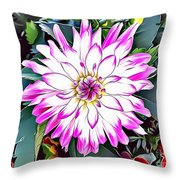 Naturalness And Flowers 38 Throw Pillow