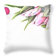 Naturalness And Flowers 42 Throw Pillow