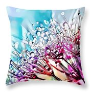 Naturalness And Flowers 45 Throw Pillow