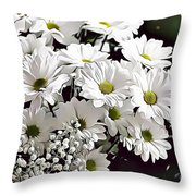 Naturalness And Flowers 52 Throw Pillow